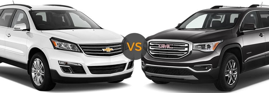 gmc acadia vs chevy traverse bill kay buick gmc Gmc Acadia Vs Chevy Traverse