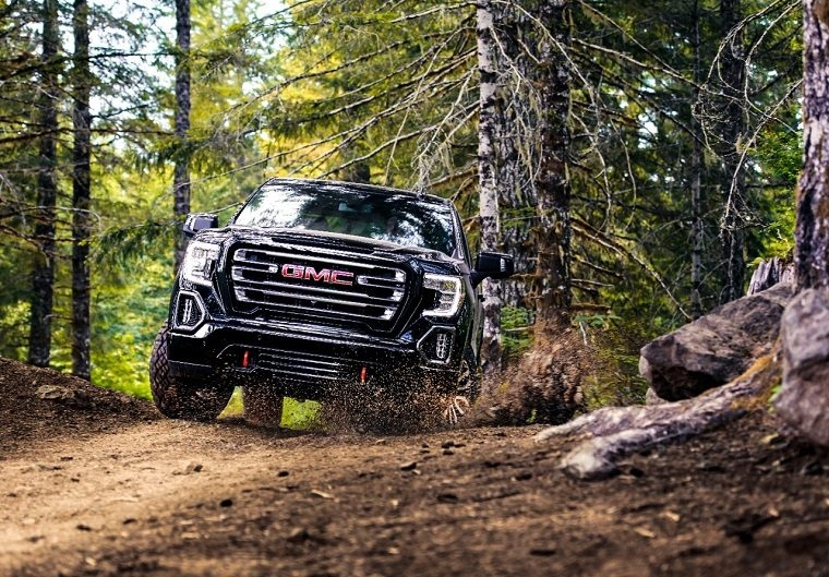 gmc sierra at4 gets powerful new off road performance Gmc Off Road Performance Package
