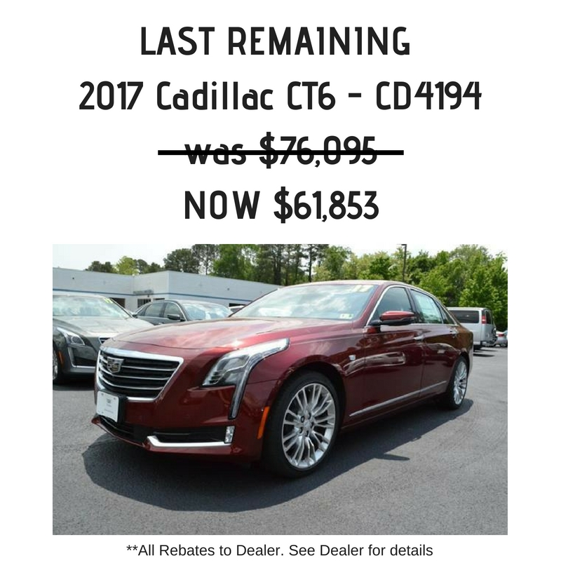 holiday chevrolet cadillac is a williamsburg chevrolet Cadillac Incentives For June