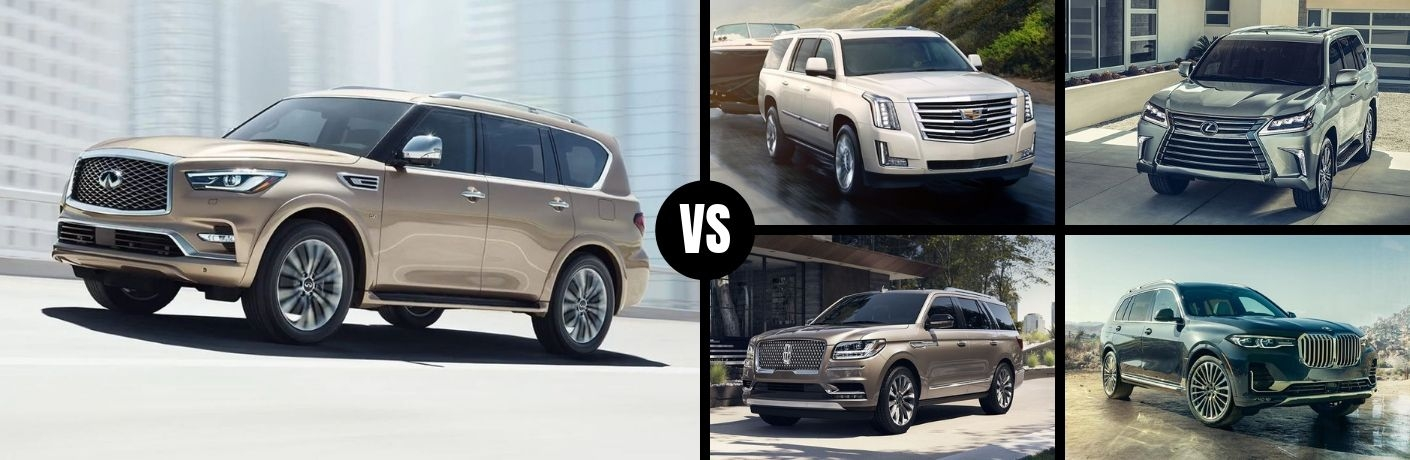 how does the 2019 infiniti qx80 stack up against the Infiniti Qx80 Vs Cadillac Escalade