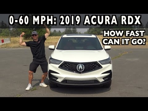 how fast 0 60 mph 2019 acura rdx on everyman driver Acura Rdx Quarter Mile Time