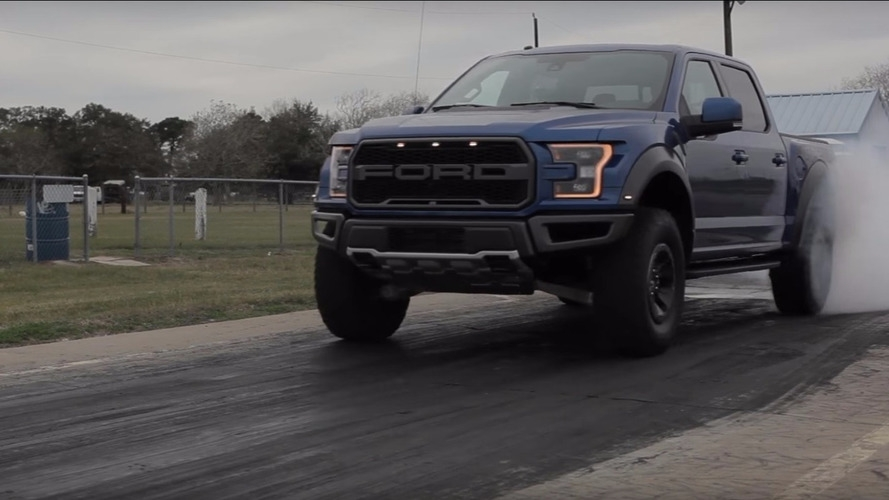 how powerful and how quick is the 2017 ford raptor Ford Raptor Quarter Mile