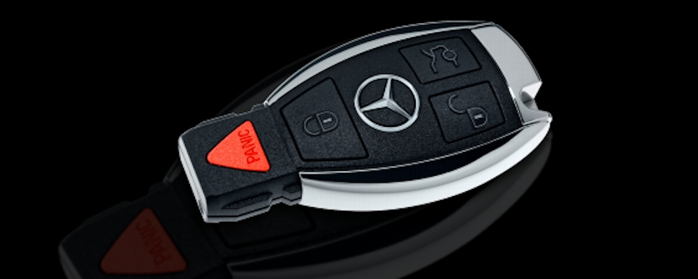 how to start your mercedes benz with a dead key fob battery Mercedes C Class Key Fob