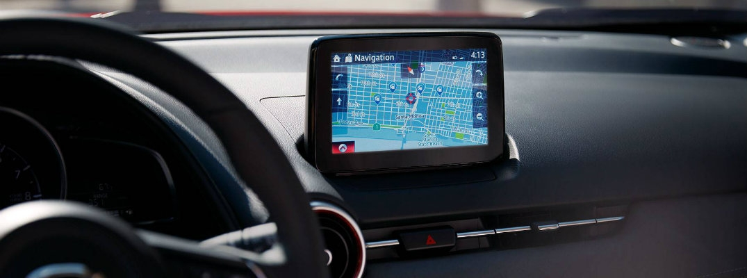 how to use navigation through the mazda connect system Mazda Navigation System