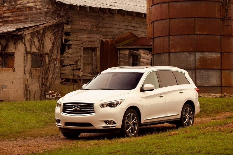 infiniti qx60 is a beast of suburban burden wsj Volvo Xc90 Vs Infiniti Qx60