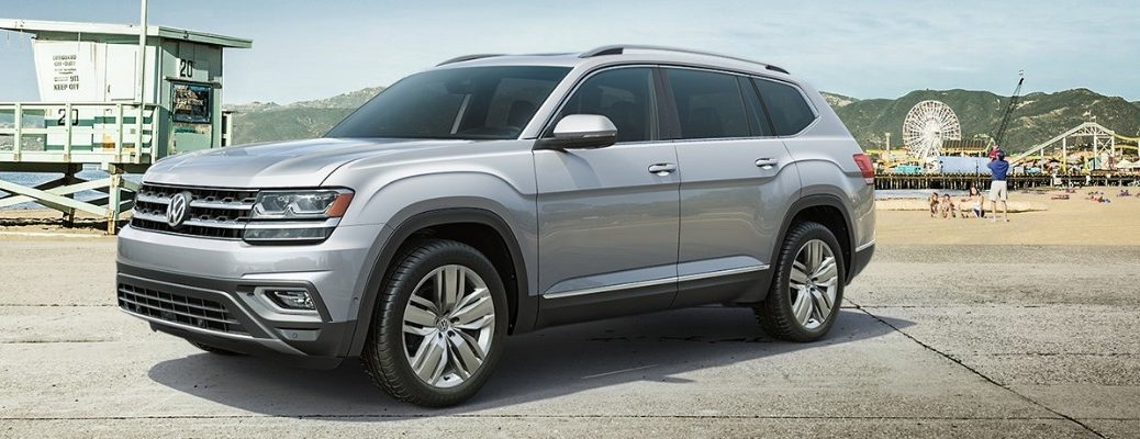 interior dimensions and volume ratings of the 2019 Volkswagen Atlas Dimensions