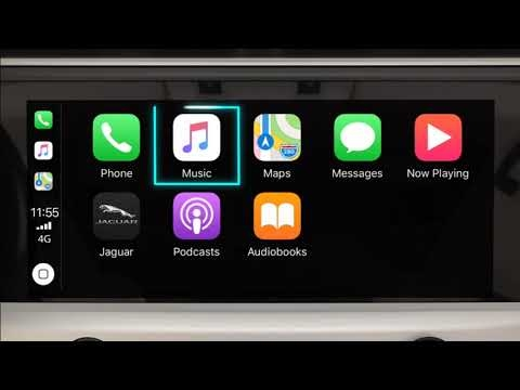 jaguar apple carplay Jaguar F Pace Apple Carplay