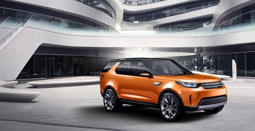 jaguar land rover discovery vision concept unveiled at Jaguar Land Rover Vision