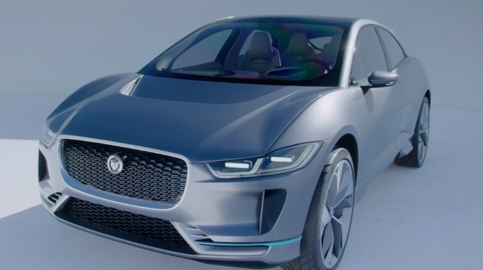 jaguar land rover unveils its first electric car central Jaguar Land Rover Electric Cars
