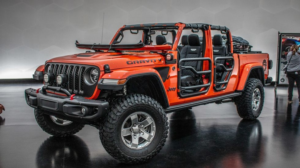jeep gladiator gravity is a concept you can build now Pictures Of The Jeep Gladiator