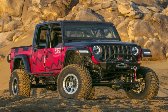 jeep gladiator king of the hammers race car jt 2019 Jeep Gladiator King Of The Hammers
