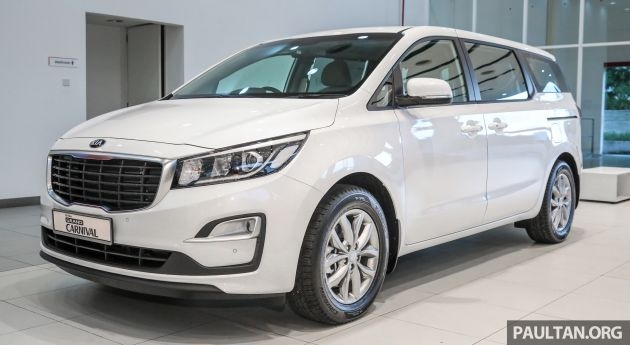 kia grand carnival facelift pricing revealed kx and sx Kia Grand Carnival Malaysia