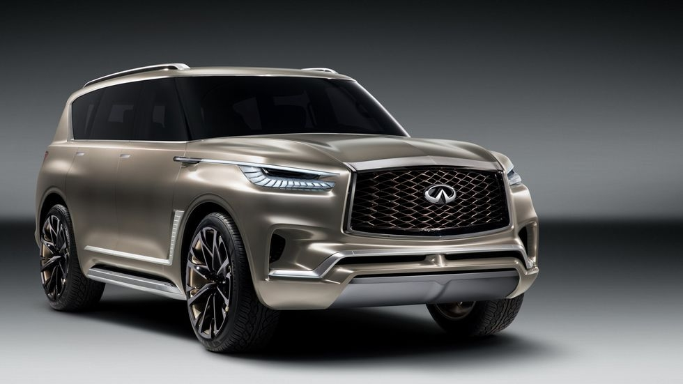 large luxury in the infiniti qx80 monograph concept Infiniti Qx80 Monograph