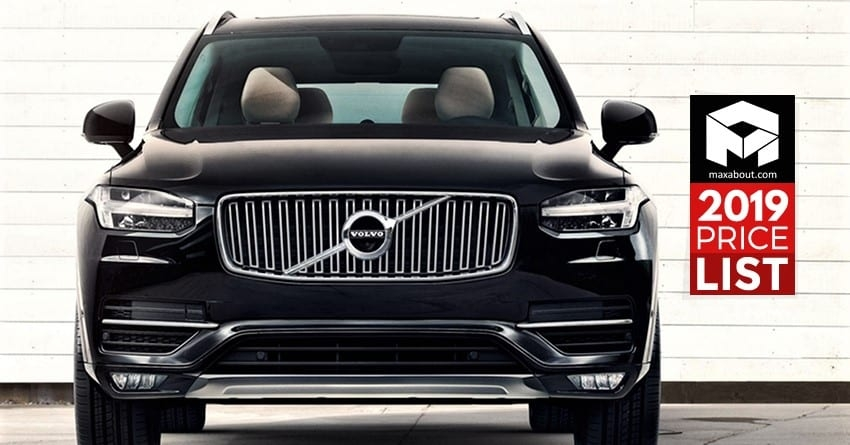 latest volvo cars suvs price list in india updated Volvo Upcoming Cars In India