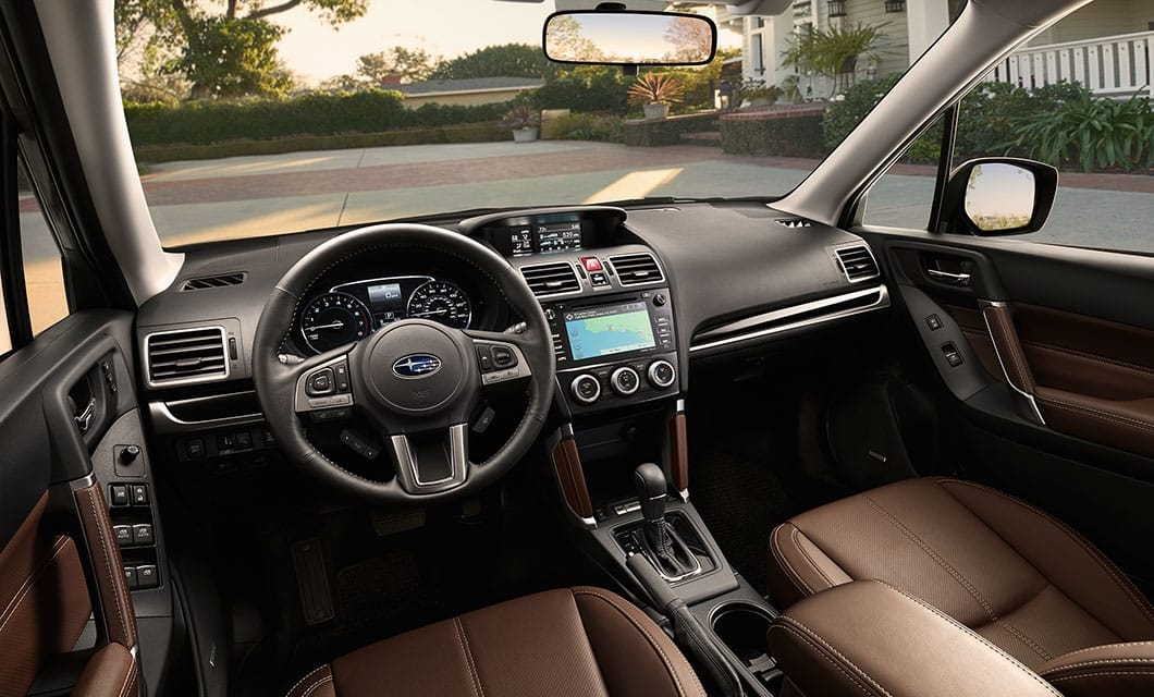 learn more about the 2018 subaru forester interior technology Subaru Forester Interior