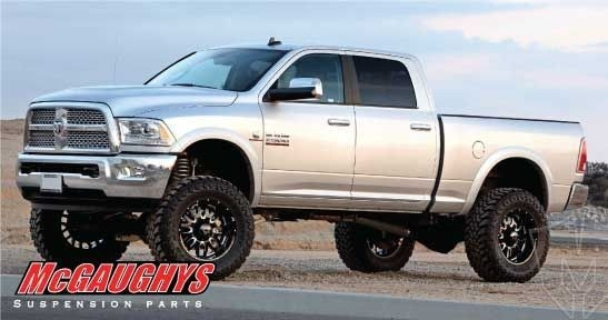 mcgaughys front leveling kit for 2014 18 dodge ram 25003500 2wd4wd Dodge Ram Leveling Kit