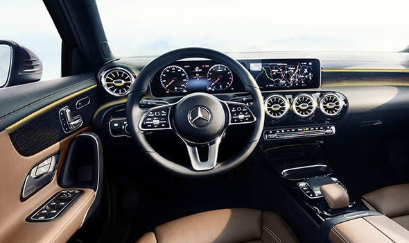 mercedes a class 2018 interior revealed in pictures ahead of Mercedes A Class Interior