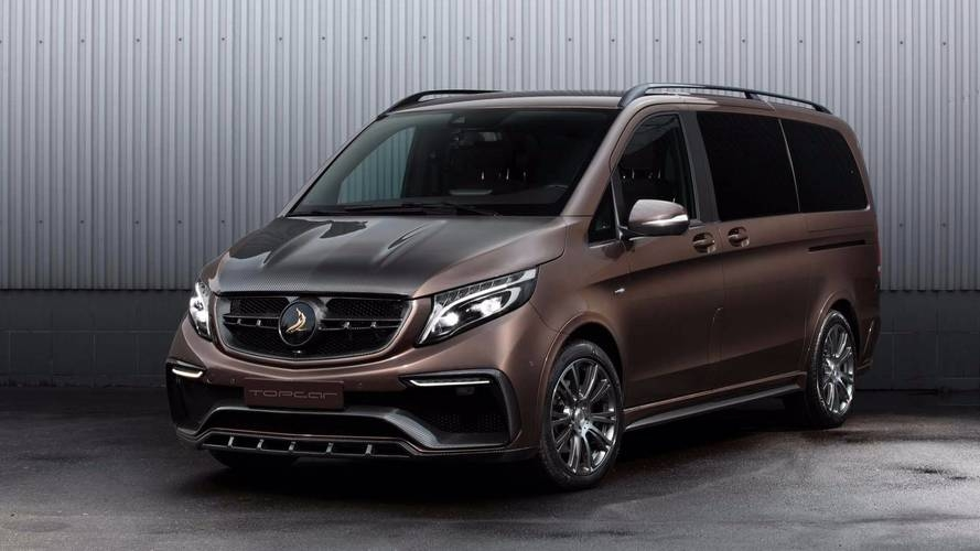 mercedes benz v class gets an exterior only facelift from topcar Mercedes V Class Facelift