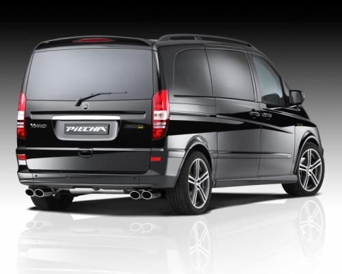 mercedes benz viano facelift gets full styling kit from jms Mercedes Vito Facelift