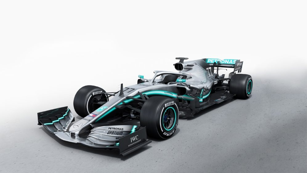 mercedes reveal and shakedown their 2019 challenger formula 1 Mercedes Formula 1 Car