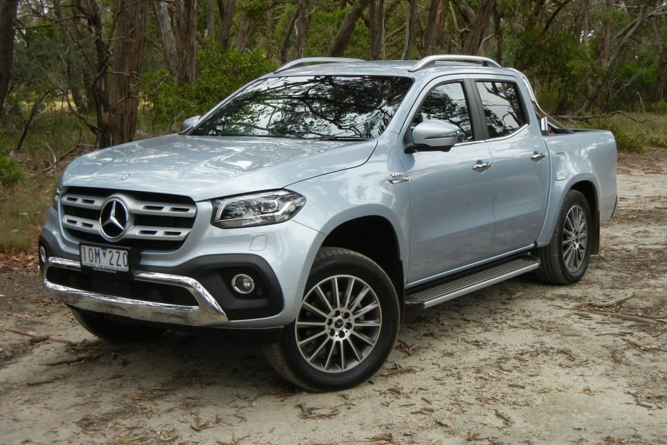 mercedes x class v6 2019 review carsguide Mercedes X Class Review