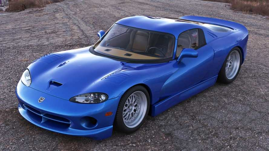 mid engined viper that never was rendered Dodge Viper Mid Engine