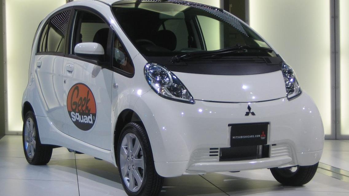 move over think mitsubishi i highest selling electric car Mitsubishi Electric Car