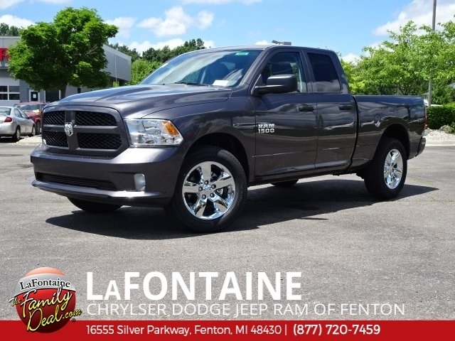 new 2018 ram 1500 express quad cab 4x4 64 box Dodge Ram Express Quad Cab