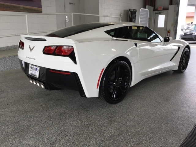 new 2019 chevrolet corvette stingray z51 rwd 2d coupe Chevrolet Corvette Stingray