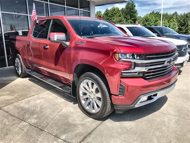 new 2019 chevrolet silverado 1500 high country with navigation 4wd Chevrolet Silverado High Country