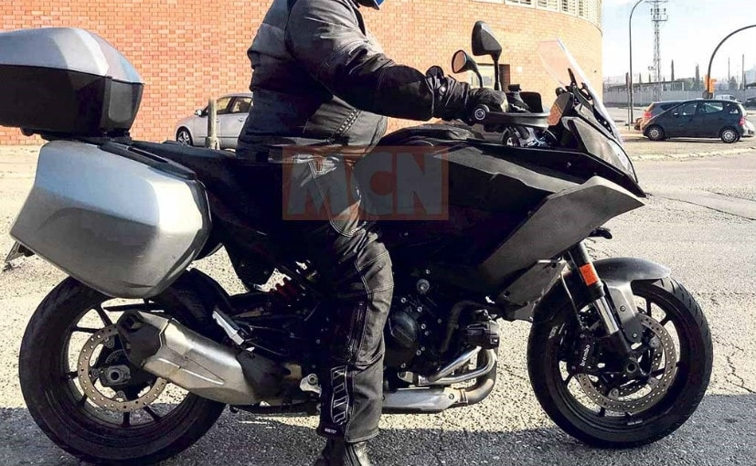 new bmw sport touring motorcycle spied testing in europe Bmw Touring Motorcycle