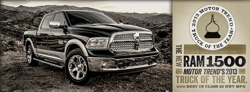 pickup truck adventures 2013 motor trend truck of the year Dodge Ram Truck Of The Year