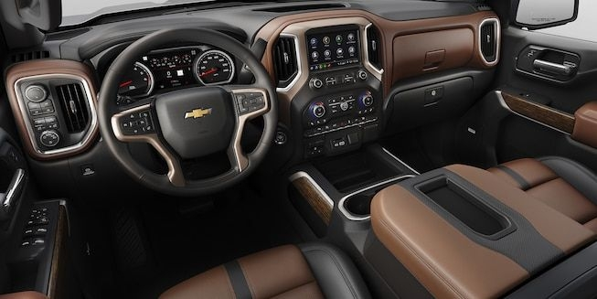 pin on 2019 all new chevy silverado Chevrolet High Country Interior