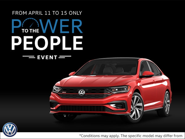 power to the people event cros vw Volkswagen Offers April