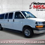 pre owned 2018 chevrolet express 3500 lt rwd extended passenger van Chevrolet Passenger Van