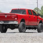 rough country 5 dodge suspension lift kit coil springs radius drops 14 18 ram 2500 4wd Dodge Ram 2500 Lift Kit