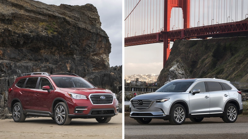 subaru ascent versus mazda cx 9 crossover comparison autoblog Subaru Ascent Vs Audi Q7