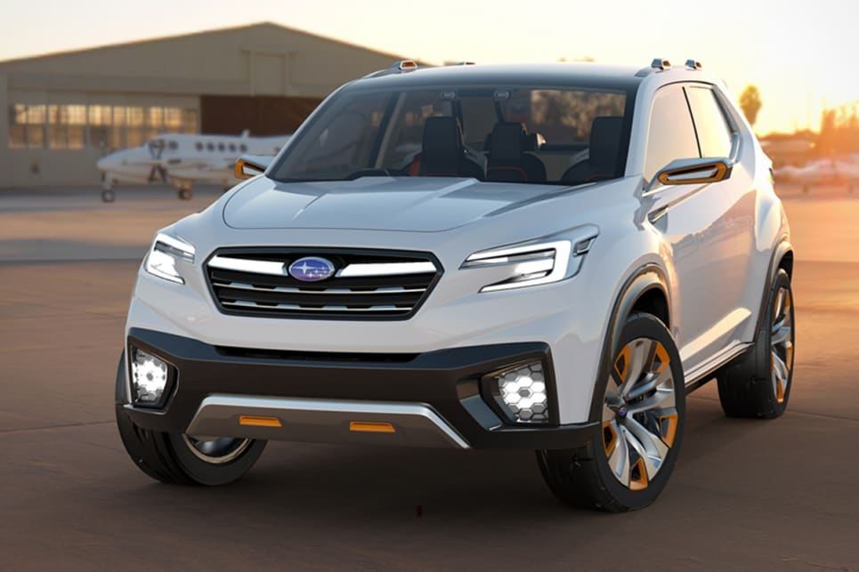 subaru forester 2018 set for second half launch car news New Generation Subaru Forester