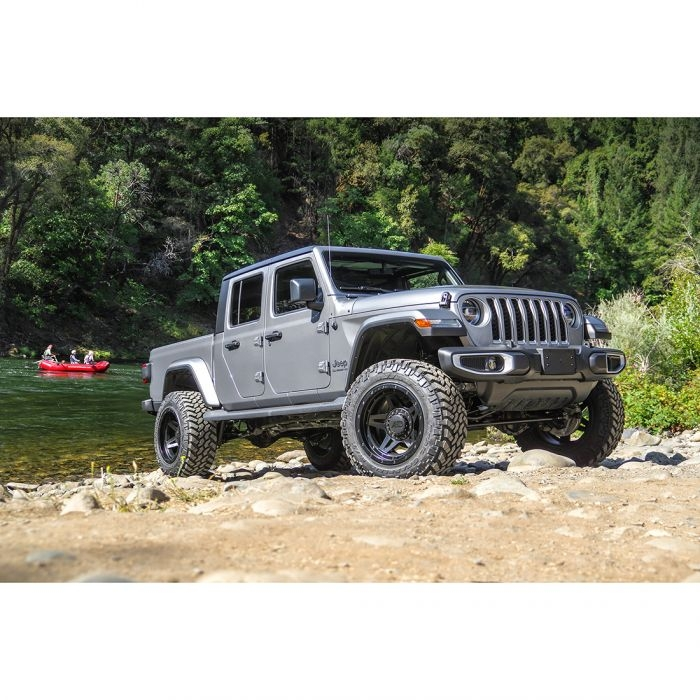 terrain flex 4 arm kit with falcon 21 monotube shocks 2020 jeep jt gladiator Lift Kit For Jeep Gladiator