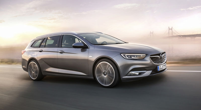 the 2017 opel insignia wagon will make you want to buy a buick Opel Insignia Station Wagon
