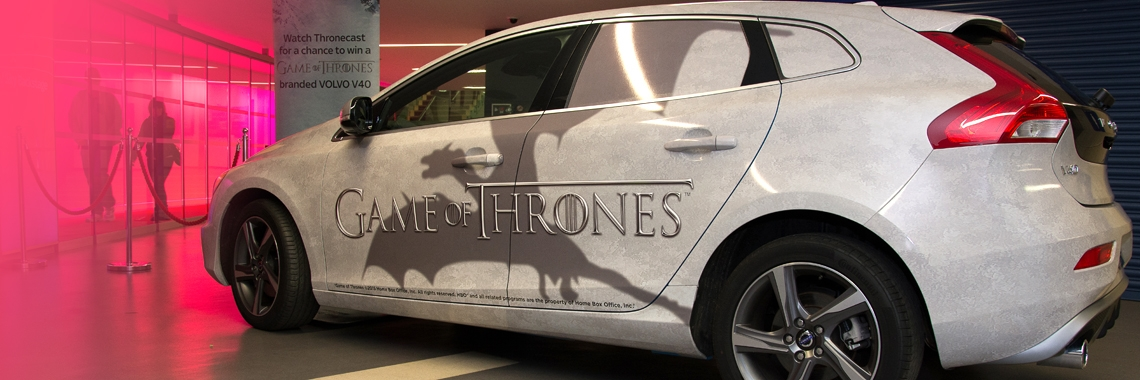 this competition is now closed Volvo Game Of Thrones Competition