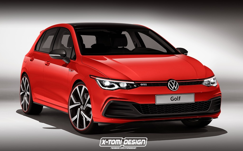 this is what the next volkswagen golf gti should look like Volkswagen Golf Mk8 Gti