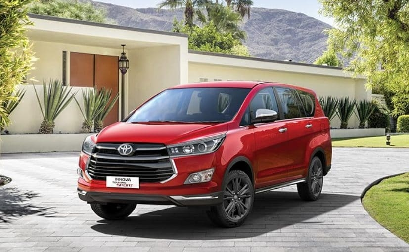 toyota innova crysta g plus variant launched in india Toyota Innova Crysta India
