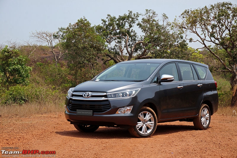 toyota innova crysta official review team bhp Toyota Innova Crysta India