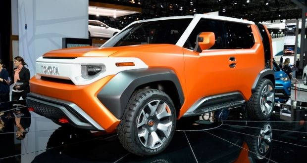 toyotas ft 4x concept harks back to the classic land cruiser Toyota Land Cruiser Concept