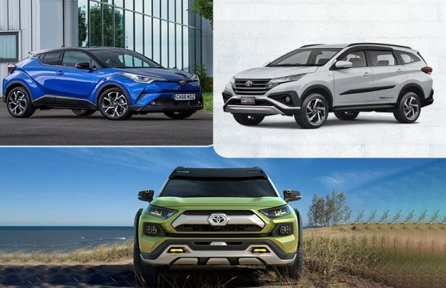 toyotas upcoming suv for india will it be the rush c hr Toyota Upcoming Suv In India