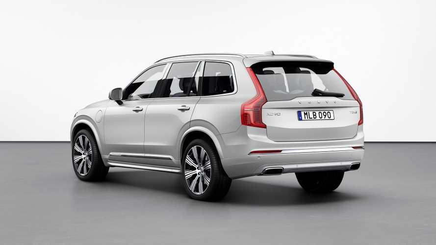upgraded volvo xc90 goes on sale with 52235 starting price Volvo Xc90 Facelift Uk