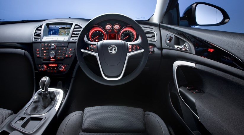 vauxhall insignia interior first pictures car magazine Opel Insignia Interior