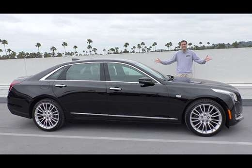 video the cadillac ct6 is a 70000 luxury sedan that Cadillac That Drives Itself