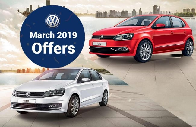 volkswagen car offers huge benefits on polo ameo vento Volkswagen Offers March